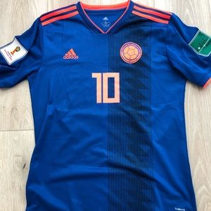 James Rodriguez 2018 Columbia World Cup Jersey - L